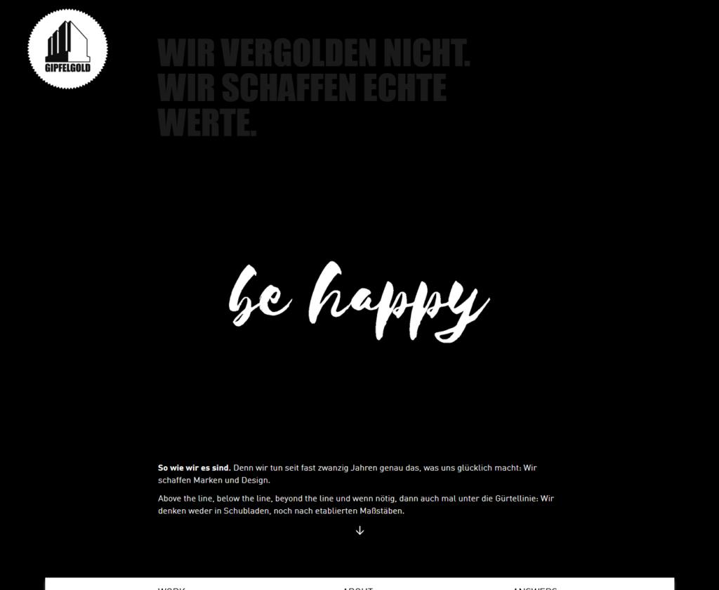 Gipfelgold.de Homepage